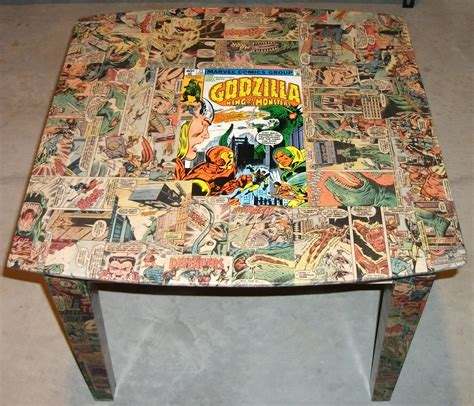 decoupage comic book kracalactaka creations comic decoupage presenting