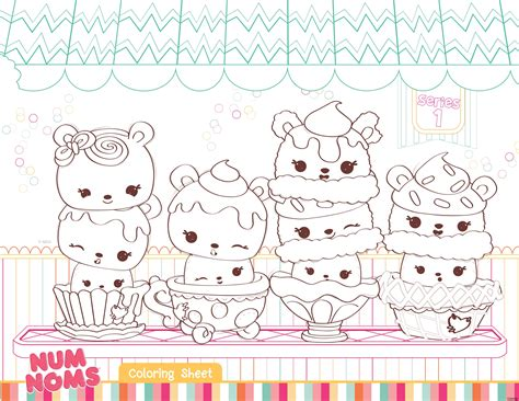 Examples Of How To Do A Resume by Num Noms Coloring Pages Nums Numnoms Printable Of Diaiz