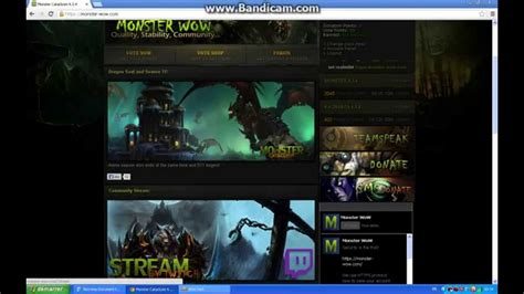 download youtube hack wow hack donations link download monster wow private