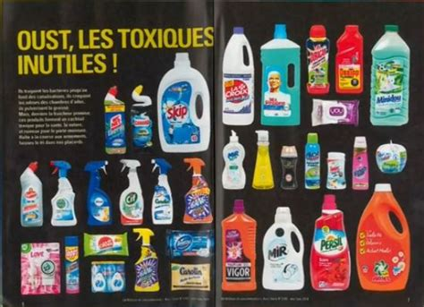 produits m 233 nagers gare aux substances toxiques