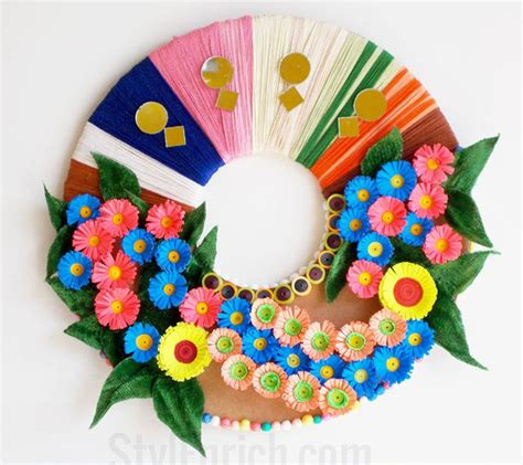 Materials To Make Paper - 10 paper flower wreaths you can diy