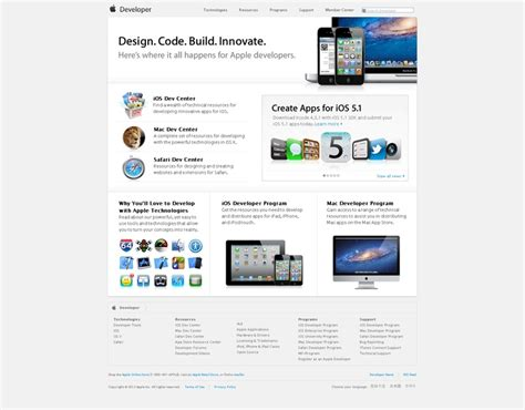 apple documentation apple developer inspiration desing web pinterest