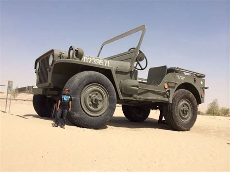 the largest jeep in the world displayed at the emirates