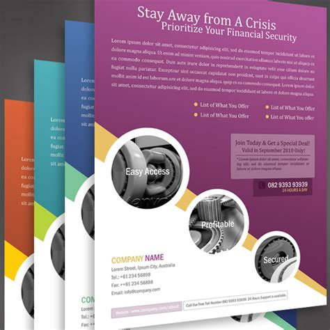 business poster template 20 outstanding graphicriver flyers and posters
