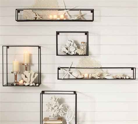 pottery barn shelving small space solutions 5 ways with wall shelves