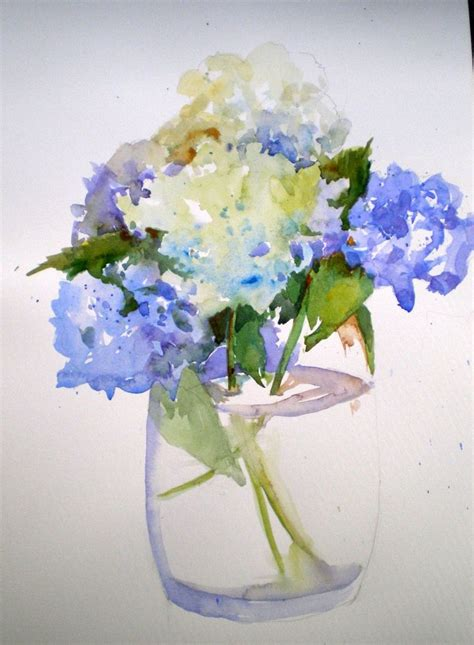watercolor hydrangea tutorial 17 best images about watercolor on pinterest hydrangeas