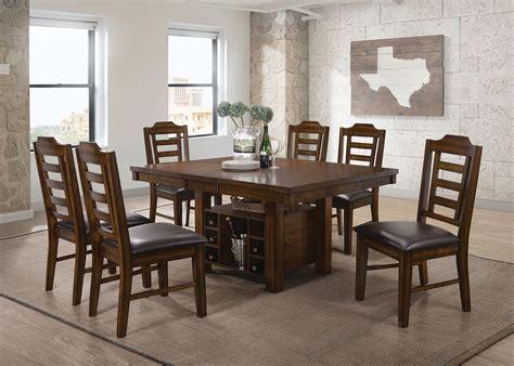 Ash Dining Room Furniture Bathurst Ash Wood Extendable Dining Room Set From Coaster Coleman Furniture