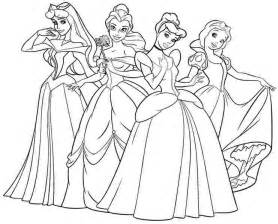 coloring pages of disney princess to print princess coloring pages print princess pictures