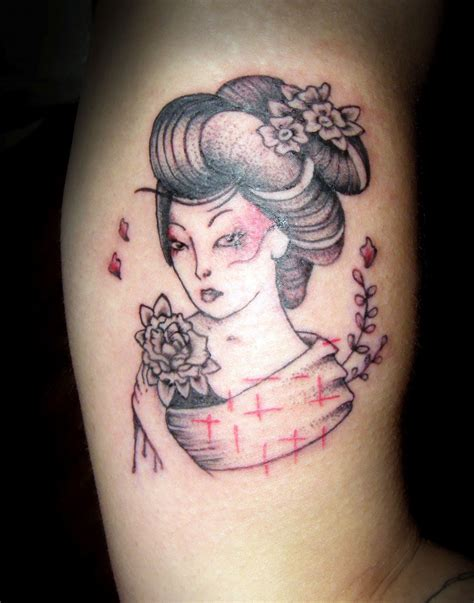 geisha tattoos designs cool tattoos bonbaden