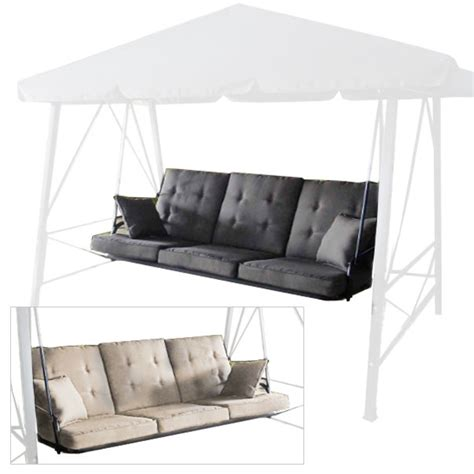 3 person swing replacement cushions gazebo 3 person swing rus473c replacement cushion garden winds