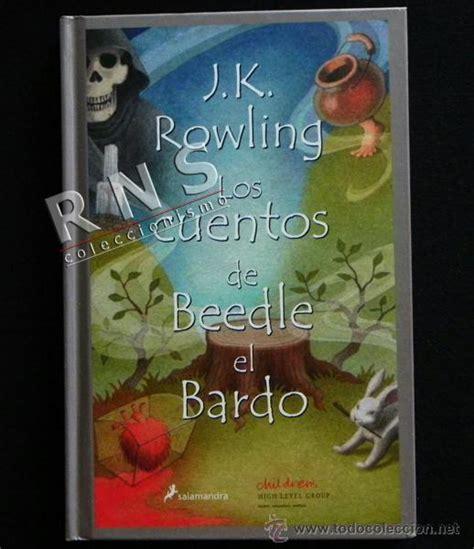 cuentos de beedle el 8498381959 los cuentos de beedle el bardo jk rowling cue comprar libros de cuentos en todocoleccion