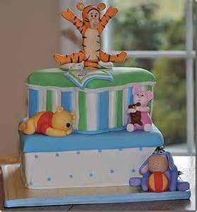 winnie the pooh cake baby shower charming baby shower cake featuring baby winnie the pooh