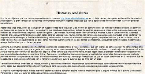 historias y leyendas andaluzas recurso educativo 35679 tiching
