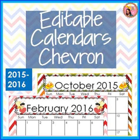 nylas crafty teaching editable school calendars