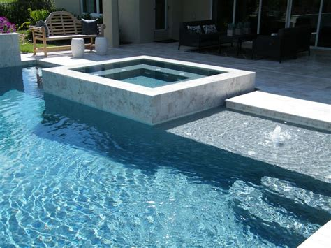square pools raised outdoor spa infinite edge square spa hot tub
