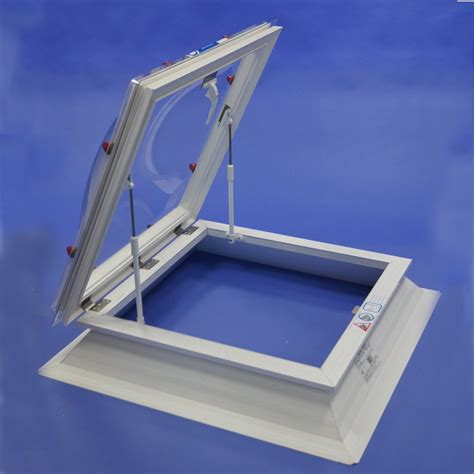With Hatch by Glazed Roof Hatch Part L Compliant