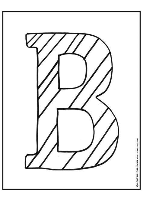 Coloring Page Letter B by Letter B Coloring Pages Printable Az Coloring Pages