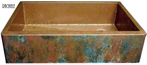 how to patina copper sink copper farm sinks crafted and custom made in the usa