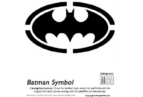 printable pumpkin stencils batman 8 best images of batman pumpkin stencils free printable