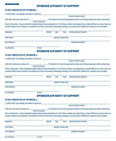 financial affidavit 28 sle affidavit forms in pdf