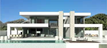 Villa Design by Modern Turnkey Villas In Spain France Portugal