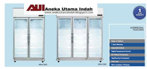 Royalledy Display Cooler Lg 1000bf Doors aneka utama indah 2 dua 3 tiga pintu showcase display cooler lemari kaca pendingin