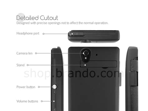 power jacket for sony xperia z with cover 4200mah