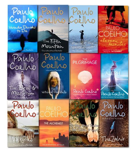 his of books paulo coelho collection 12 books set new the alchemist