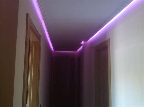 iluminacion rgb foto iluminacion rgb led en pasillo de efielec 544089