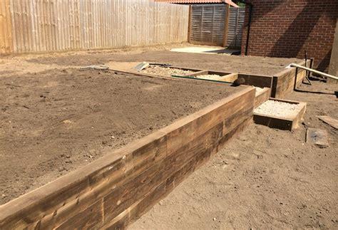 creating a split material wall garden design norwich mn landscapes garden project