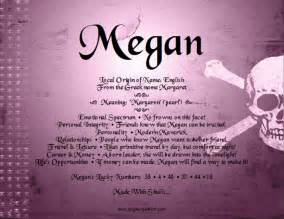 megan name meaning and analysis angies creation