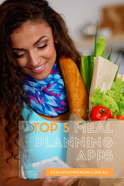 top 5 meal planning and recipe apps stay at home