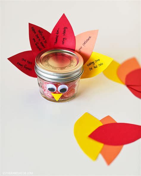 diy thanksgiving crafts for thanksgiving crafts diy jar turkey gratitude week 11
