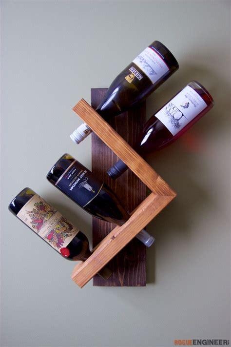 wall wine holder rogue engineer diy plans diy wood