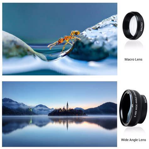 Lensa Wide 04x Gagang Warna apexel lensa wide angle lens 0 45x macro 12 5x for