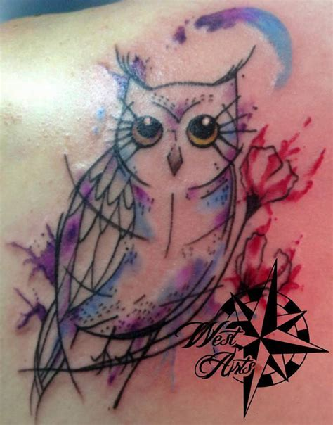 tattoo ganesha colorida 1000 ideas about watercolor owl tattoos on pinterest