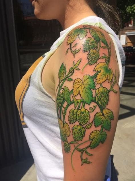 hop tattoo 78 best images about hops tattoos on