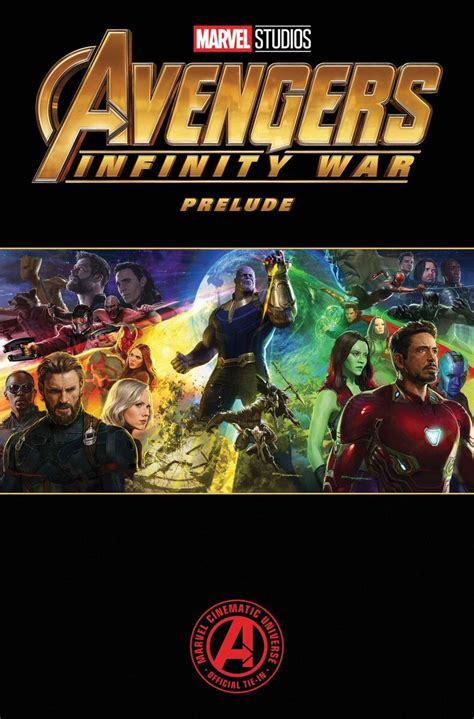 marvel s infinity war prelude new infinity war logo revealed