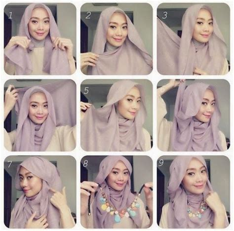 Fashion Muslim Scarf Jilbab Pashmina Instant Arzety 50 best images about tutorial on