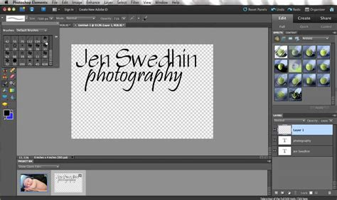 photoshop tutorial watermark logo creating and using watermarks in photoshop elements youtube