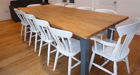 handcrafted farmhouse kitchen tables and chairs modern
