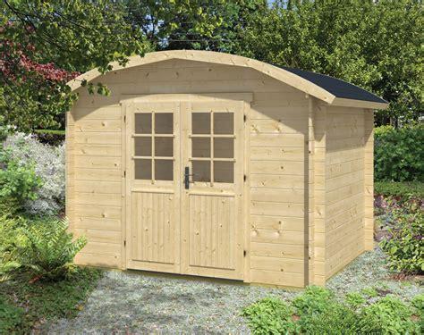 Klair Curved Roof Log Cabin