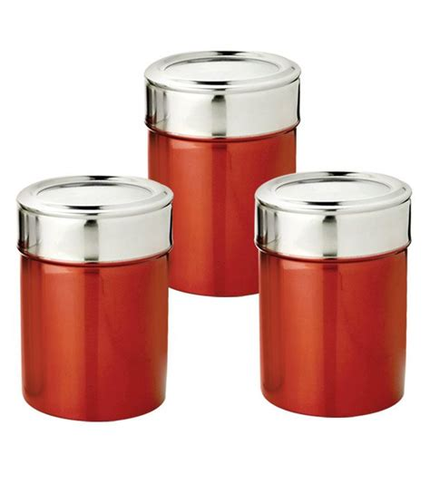 i can t find a canister set with the names sugar flour devisons red canister set 3 pcs buy online at best