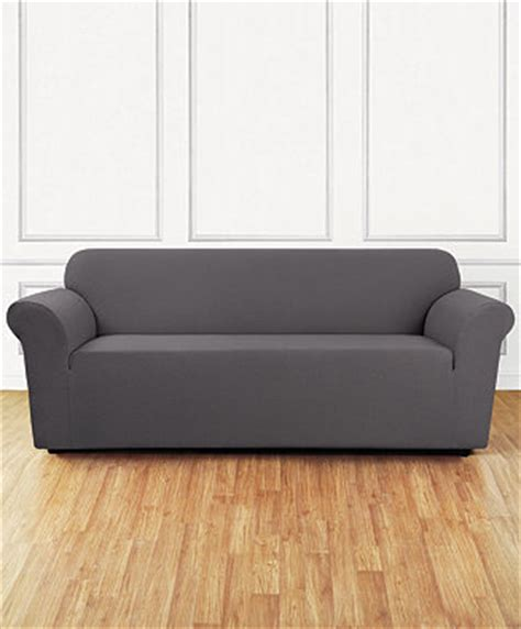 sure fit stretch delicate leaf one sofa slipcover