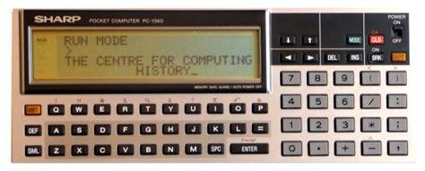 Komputer Sharp sharp pc 1360 computing history
