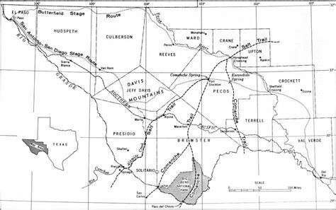 map of west texas area texas bureau of economic geology the big bend of the grande a guide to the rocks geologic