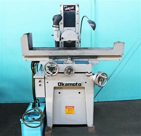 Okamoto 6 Quot X 18 Quot Linear Hand Feed Surface Grinder Linear