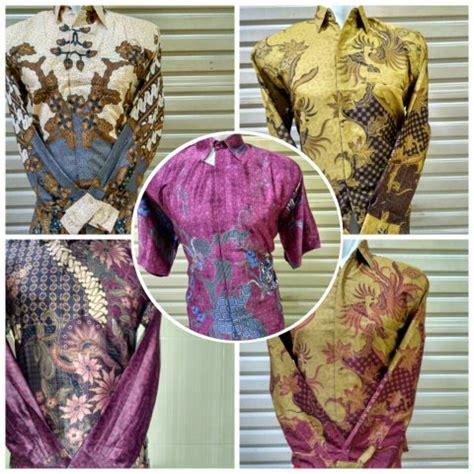 Kemeja Batik Di Tanah Abang jual promo kemeja batik pria kerja ika fashion tanah abang