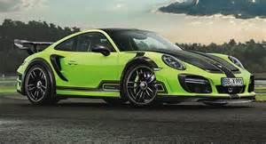 Porsche Turbo Gts Techart Unleashes Porsche 911 Turbo Gtstreet R Forcegt