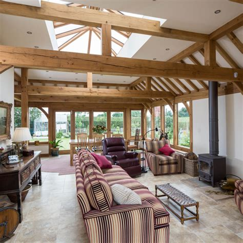 uk home interiors 7 beautiful oak framed extensions ideal home